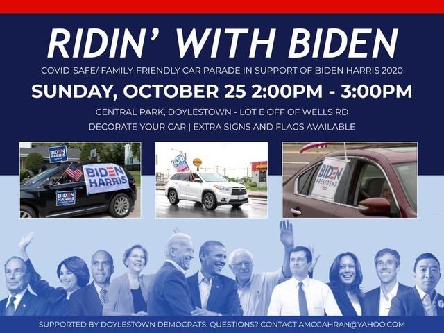 Ridin' with Biden – OCT 25th